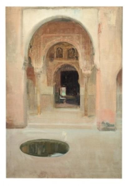 Joaquín Sorolla. Patio de la Alhambra, Granada. 1917. Museo Sorolla