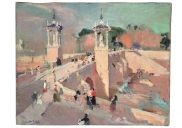 Joaquín Sorolla. Puente del Real, Valencia. 1908. Museo Sorolla