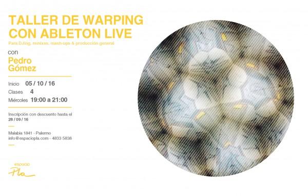 Taller de Warping con Ableton Live
