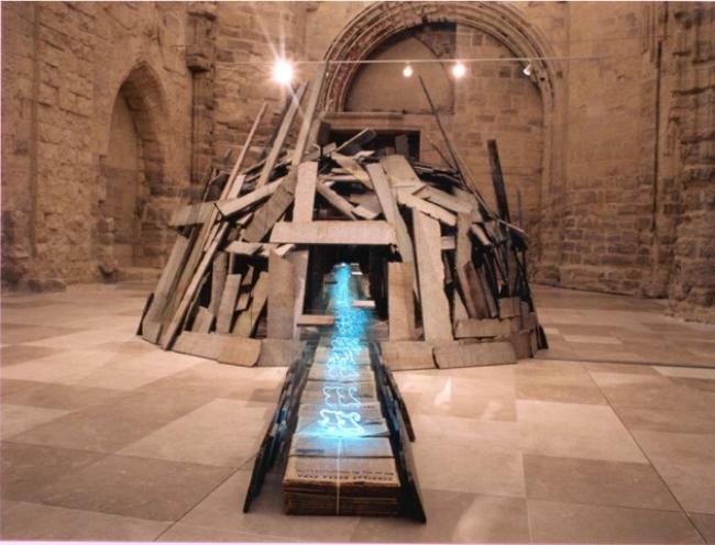 Un arc, un iglú, una ciutat - Cortesía de Eugenia Carreres Comunicación