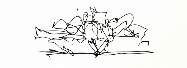 Frank Gehry & L. A. Art Scene – Cortesía de la Galería La Caja Negra