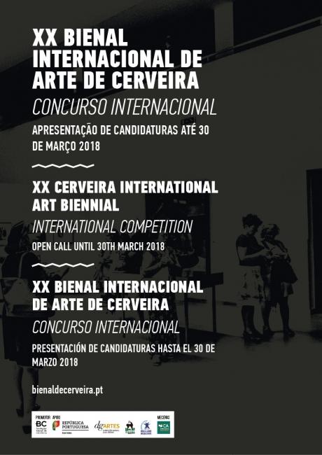 Concurso Internacional XX Bienal Internacional de Arte de Cerveira
