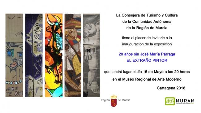 20 años sin José María Párraga. El extraño pintor