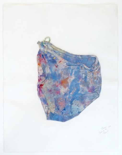 Slip de Dado,1970. Foto: Béatrice Hatala. Cortesía de Galerie Arnaud Lefebvre