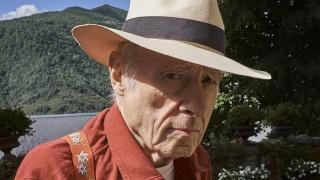 Eduardo Arroyo con sombrero — Cortesía de Hay Festival
