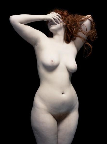 Nadav Kander, Nude VII (paint), 2010