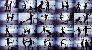 """""""Capoeira"""" de Miguel Rio Branco. Cortesía del M HKA"""