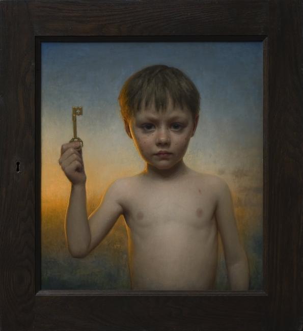 Conor Walton - The Key - Oil on linen - 55x45 (1º Premio) – Cortesía de la Galería Aragonesa ARTELIBRE