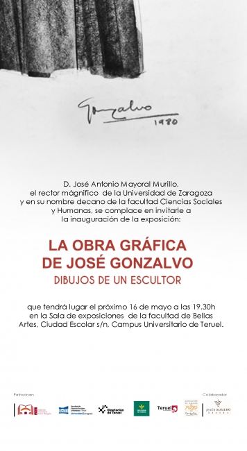 La obra gráfica de José Gonzalvo. Dibujos de un escultor
