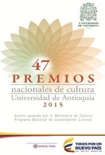 PREMIOS NACIONALES DE CULTURA 2015