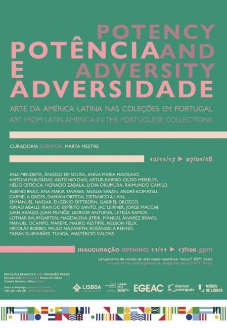 Potência e Adversidade | Ir al evento: 'Potência e Adversidade'. Exposición en Museu da Lisboa - Pavilhão Branco / Lisboa, Portugal