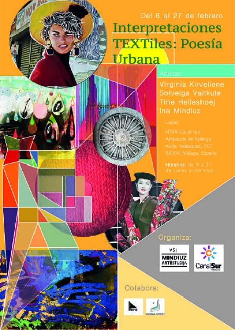 """""""Interpretaciones Textiles: Poesía Urbana"""""""