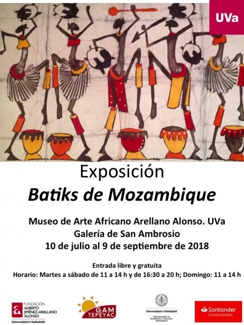Exposición Batiks de Mozambique Fundación Arellano Alonso