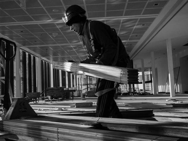 Trabajo Hecho. La mirada de cuatro fotógrafos sobre la construcción del Centro Cultural Kirchner