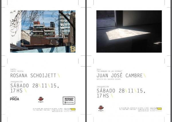 Juan José Cambre : : Rosana Schoijett