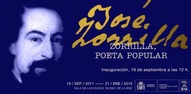 Zorrilla, poeta popular | Ir al evento: 'Zorrilla, poeta popular'. Exposición en Biblioteca Nacional de España / Madrid, España