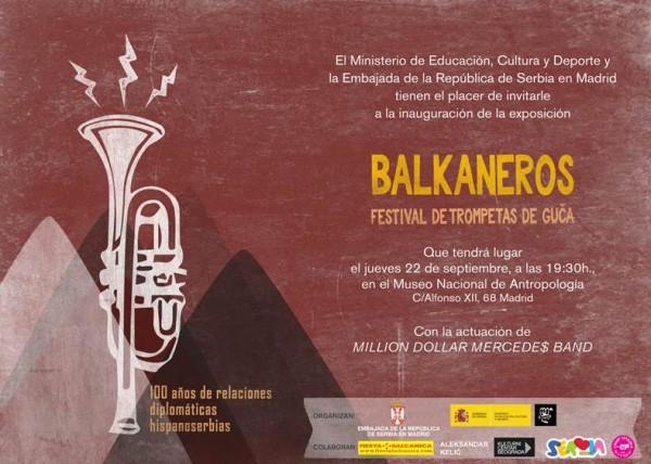 Balkaneros. Festival de Trompetas de Gu?a
