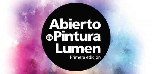 Abierto de pintura Lumen