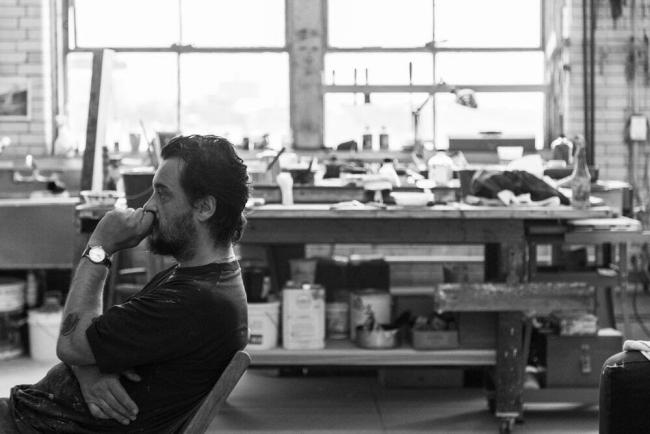Antonio Murado – Cortesía de la Galería Vilaseco | Ir al evento: 'Apartamento'. Exposición de Pintura en Galería Vilaseco / A Coruña, España