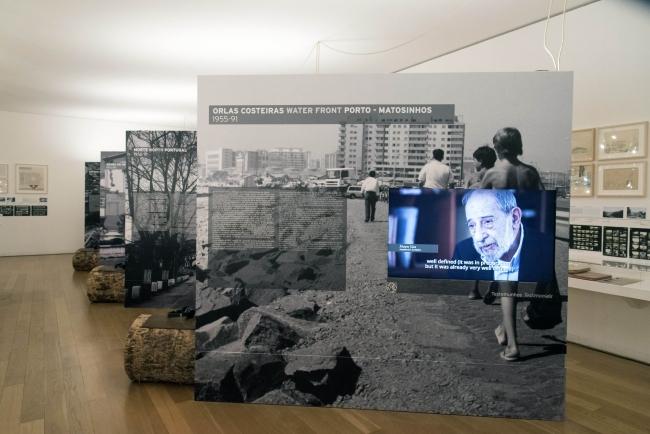 """Inauguración de la exposición """"Manuel Marques de Aguiar, 1927-2015: Construir Lugares"""" – Cortesía de la Fundação de Serralves"""