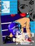 MARIA LUISA SANZ Boxeador II   Técnica: SERIGRAFÍA   Medida mancha: 70 x 52   Papel: Guarro Casas - 70 x 52. Imagen cortesía Arte Privado
