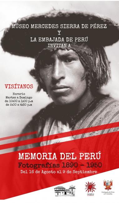Memoria del Perú. Fotografías 1890-1950