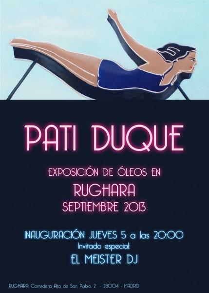 Pati Duque en Rughara (Madrid, 2013)