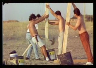 Ceryth Wyn Evans, Firework Text (Pasolini), (1999), 16mm film transferred to dvd, 15´ Courtesy Collezione Sandretto Re Rebaudengo, Torino