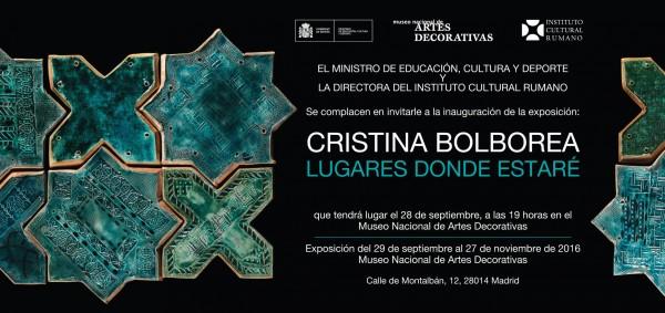 Cristina Bolborea, Lugares donde estaré