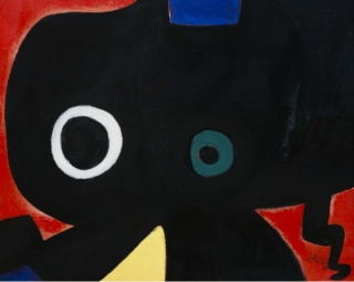 Joan Miró, Personnage, 1973. Colección Banco Santander