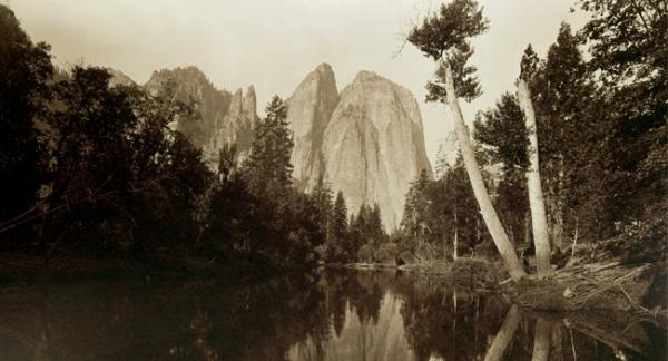 Watkins, el paisaje de Estados Unidos en la colección fotográfica de Sorolla