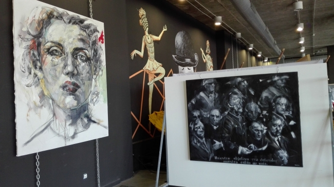 Expo Artsenal Sofía G. Ruiz | Ir al evento: 'Exposición en Artsenal II'. Exposición de Pintura en El Artsenal / Málaga, España