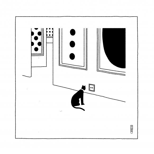 Pablo Amargo. Cats are paradoxes, 2017 – Cortesía del Museo ABC