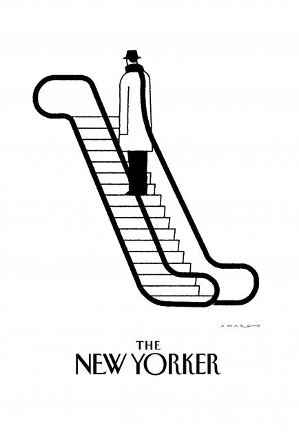 Pablo Amargo. The New Yorker, 2015 – Cortesía del Museo ABC