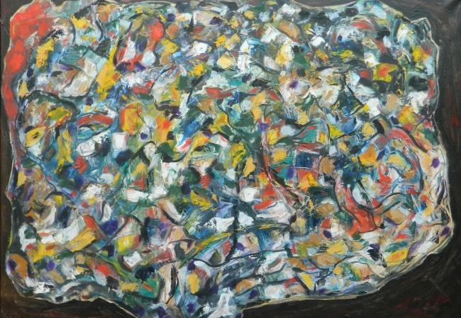 Henri Philippe - Arbol de la vida | Ir al evento: 'ARTE ABSTRACTO - Henri Philippe'. Exposición de Arte digital, Pintura en Aspa Contemporary / Madrid, España