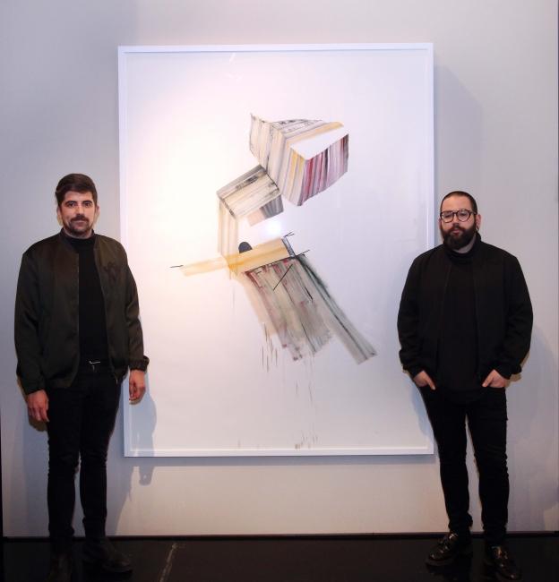 Imagen de la obra ganadora del IV Premio Adquisición Fundación Cañada Blanch — Cortesía de la Fundación Cañada Blanch