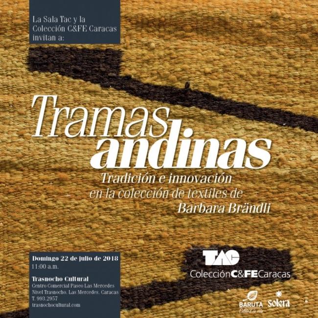 Tramas Andinas. Tradición e innovación en la colección de textiles de Barbara Brändli. Imagen cortesía Prensa TAC