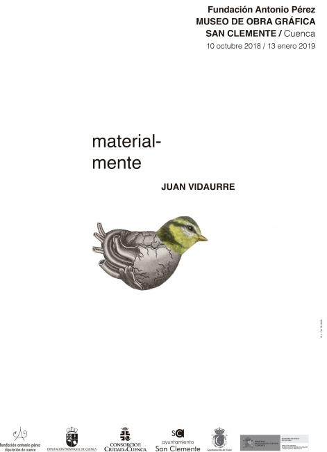 Juan Vidaurre. Material-mente