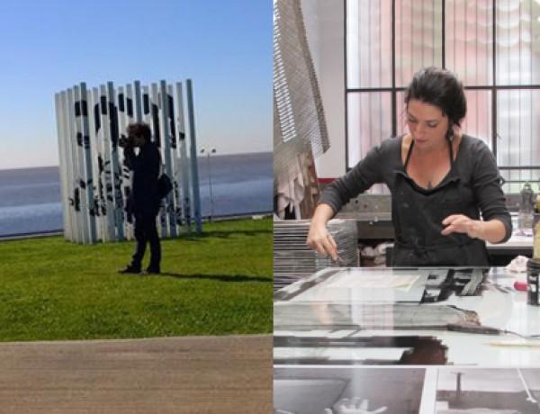 Artistas en residencia: Jae Min Kim (Corea del Sur) y Rachel Tanugui Ribas (Brasil)