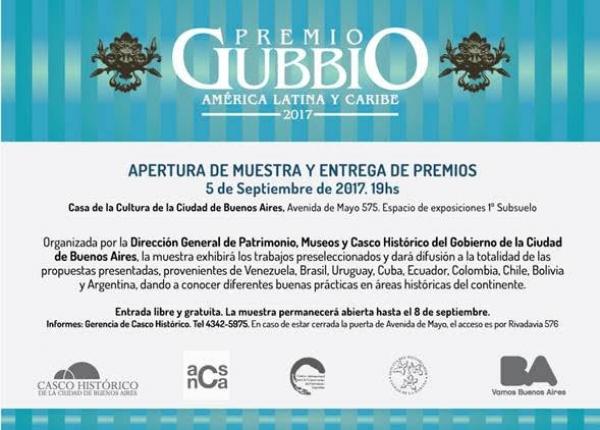 """Apertura de la muestra """"Premio Gubbio Sección América Latina y Caribe"""""""