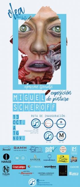 Miguel Scheroff. Galería de Arte Azur. Feria de Arte Art Jaén.