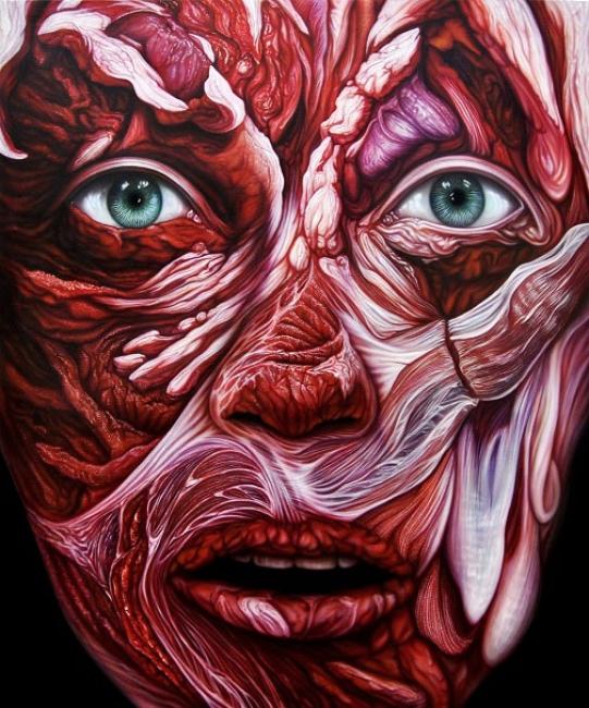 Flesh VVanitas VI | Ir al evento: 'Miguel Scheroff'. Exposición de Arte urbano, Artes gráficas, Escultura, Pintura en Espacio de Arte Azur / Jaén, España