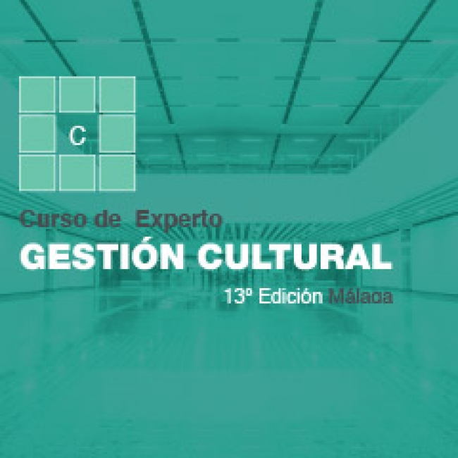 experto en gestion cultural 13 edicion