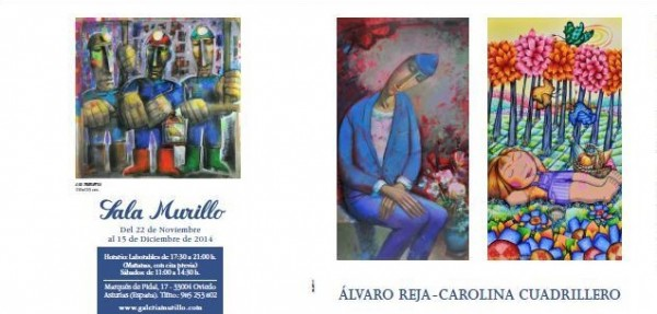 Álvaro Reja - Carolina Cuadrillero