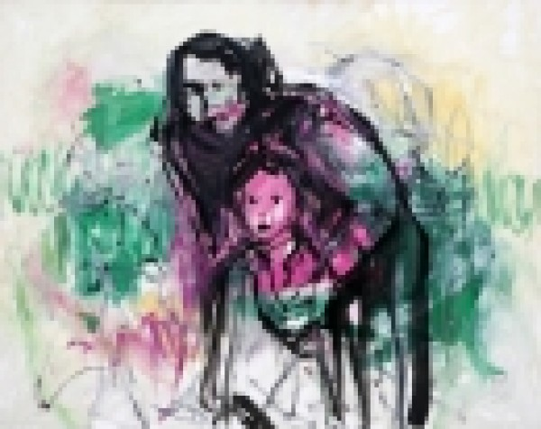 Maternidades en la pintura de Jorge Rando