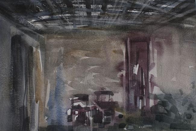Eternidad, 2015. Acuarela sobre papel, 25x35 cm