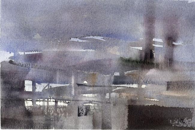 Revelaciones, 2015. Acuarela sobre papel, 17,5 x25 cm