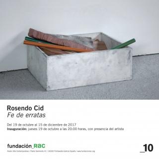 Rosendo Cid. Fe de erratas