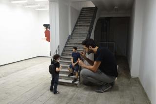Jonathan Millán. Exposición Dialogue de l'ombre double — Cortesía del Centro de Arte Alcobendas