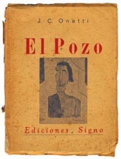 Cubierta de El Pozo, de Juan Carlos Onetti, Ediciones Signo, 1939